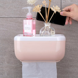 Creative toilet paper box toilet paper towel toilet paper rack household non-perforated toilet waterproof paper roll paper tube