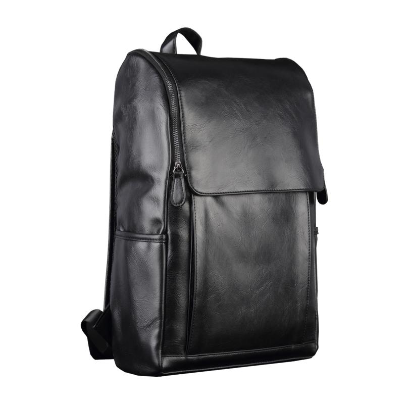 丹马仕时尚休闲双肩包欧美潮流男士背包学生书包旅行电脑包包男包
