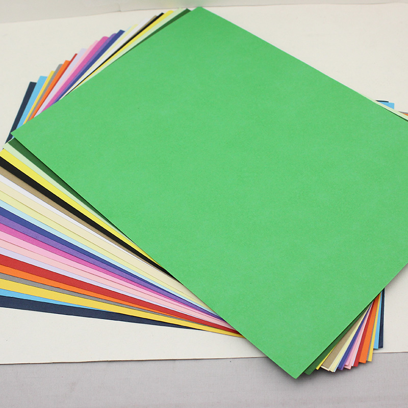 10 color A4 cardboard 160 g greeting card paper card handmade paper ...