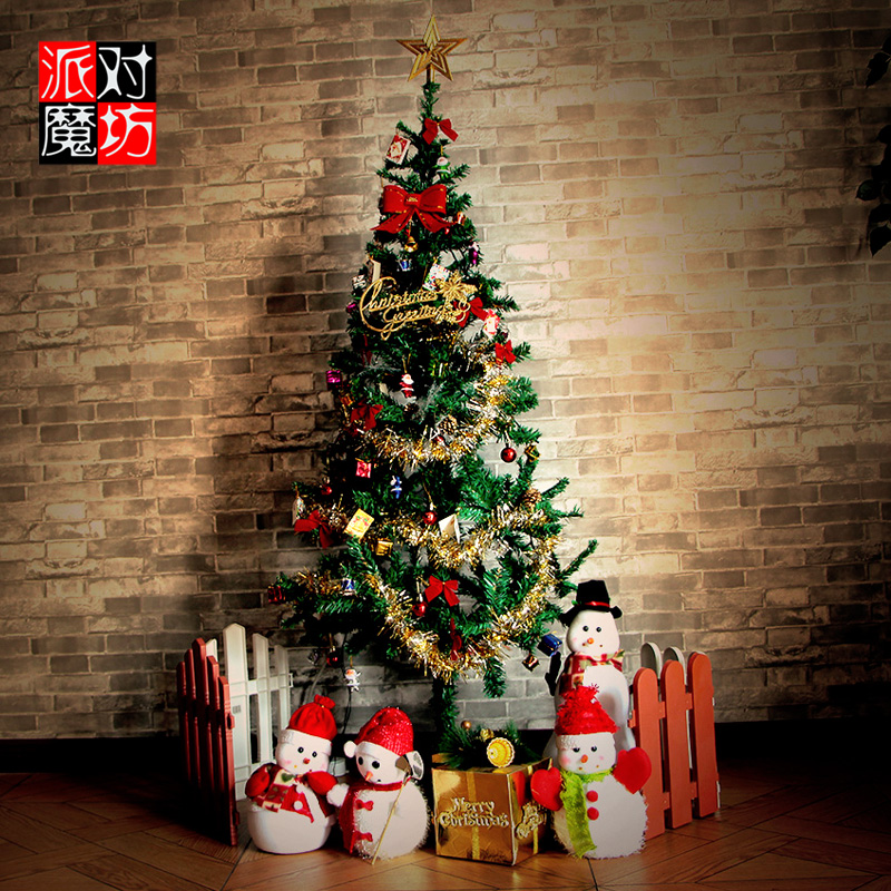 christmas decorations christmas tree package encryption 15 meters luxury christmas tree package