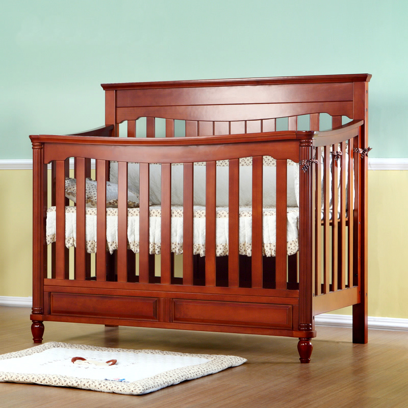 Usd 443 85 Esble Baby Crib Solid Wood Game Bed Baby Bed Children S