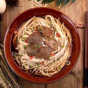 金健青稞挂面颐养面条营养早餐宽面1kg