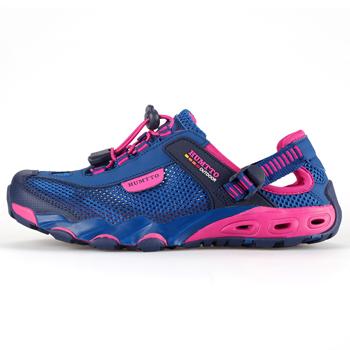 Кроссовки облегчённые США защищали свои реки треккинговая обувь женская скорости сушки, дышащий на открытом воздухе скальные туфли нескользящие рыбалка обувь пляж болотных обувь женщины