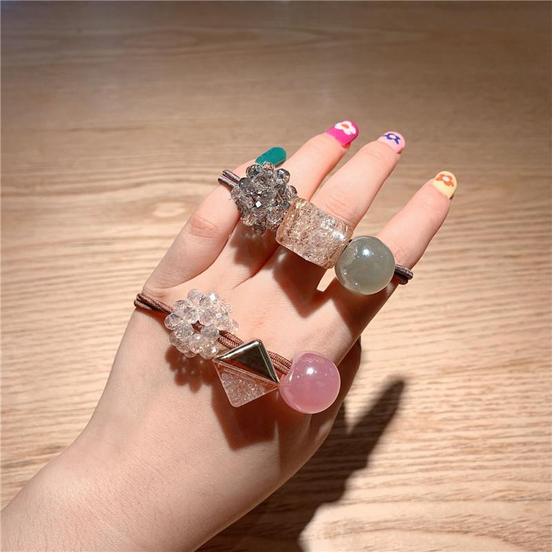 Korea's new crystal  hair ring  NHCU284875