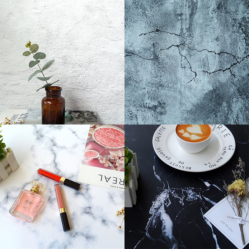 Marble Background Paper Cement Board Texture Pose For A White Food Photography Prop Taobao Photo Background Board