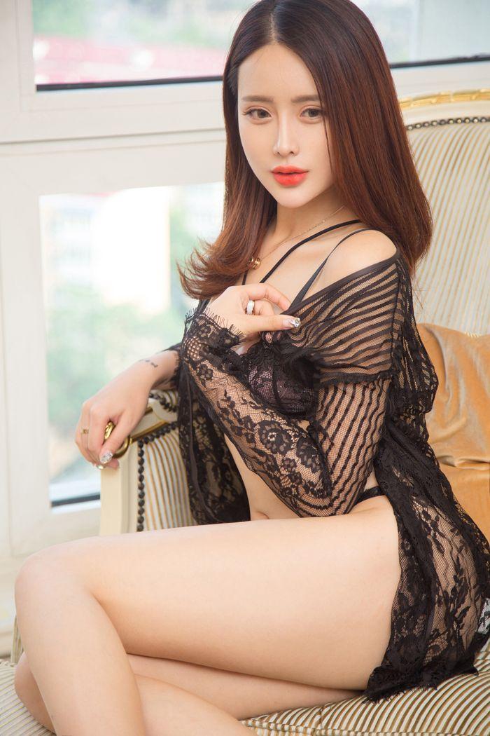 福利美图 性感嫩模刘姗姗黑色蕾丝秀豪乳翘臀  老司机 壁纸分享 蕾丝秀 第52张