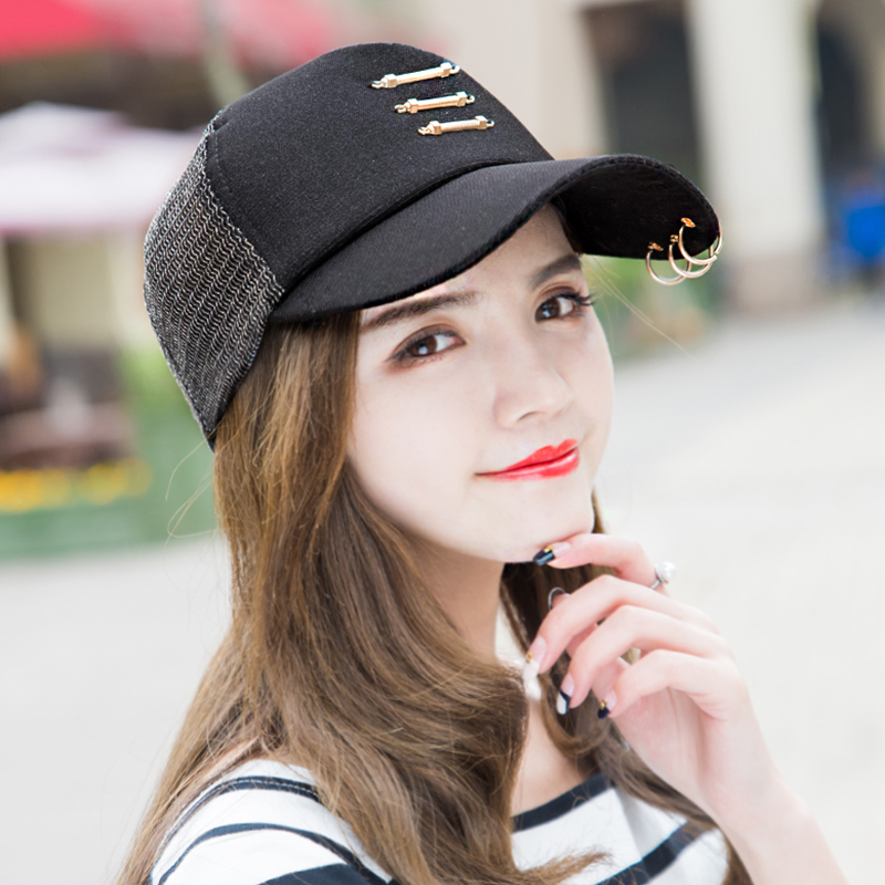 b917ff8a020 ... summer Korean tide sun hat iron ring cap outdoor leisure sun visor net.  Zoom · lightbox moreview · lightbox moreview · lightbox moreview · lightbox  ...