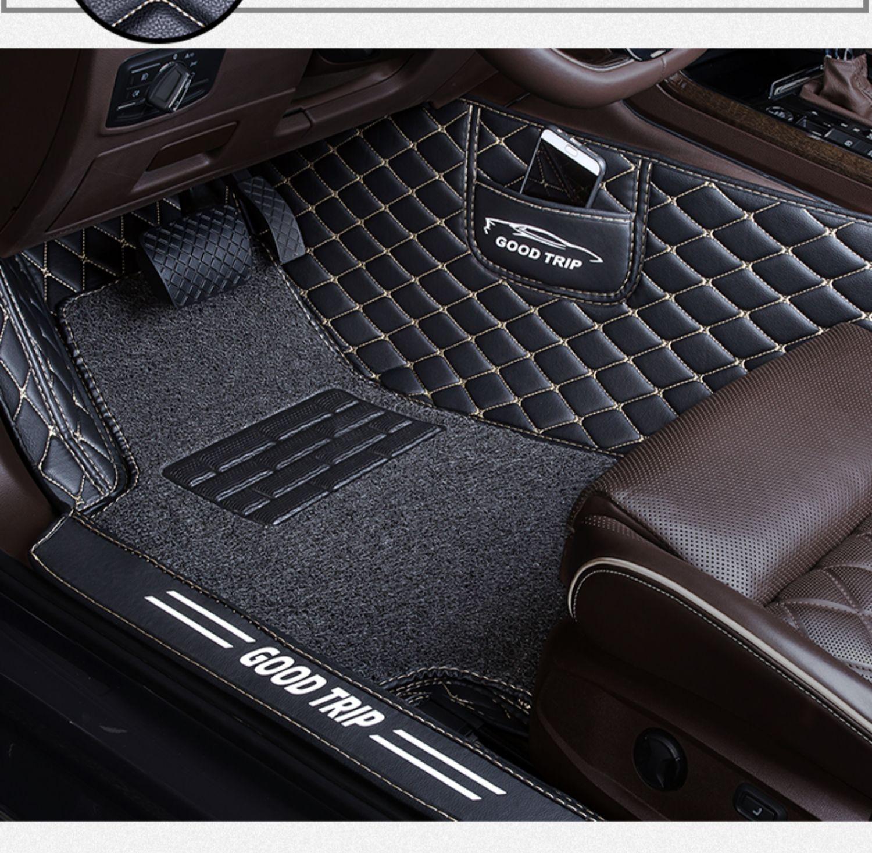 主驾驶室正单个单片主驾司机位副驾驶座朗动通用款全包围汽车脚垫商品详情图