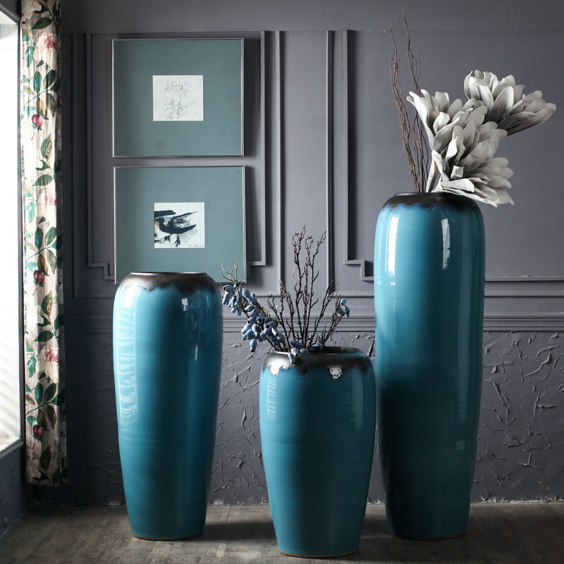 Usd 13650 Japanese Simple Modern Ceramics Large Vase Decoration