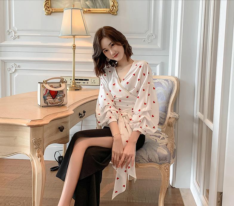 泡泡袖新品衬衫,助你做个优雅性感的女人爱呀幸福女人张柏芝 第2张
