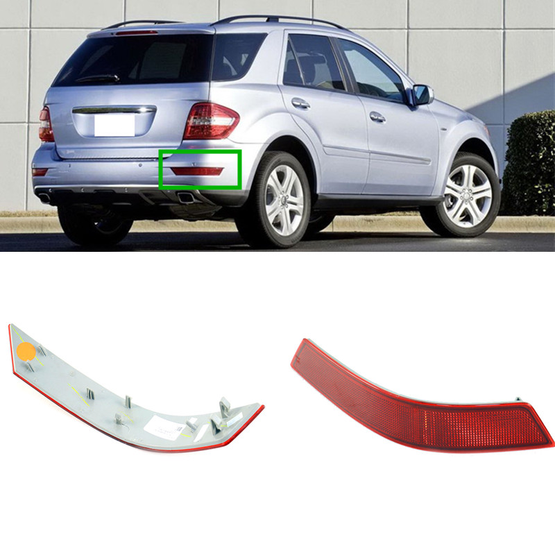 1PC Rear Bumper Right Reflector For Mercedes-Benz ML-Class ML320 ML350 ML550