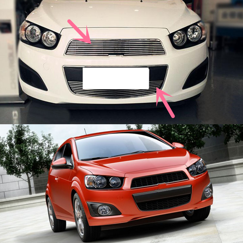 For Chevrolet Aveo Sonic 2012 2015 Front Grille Grill Mesh