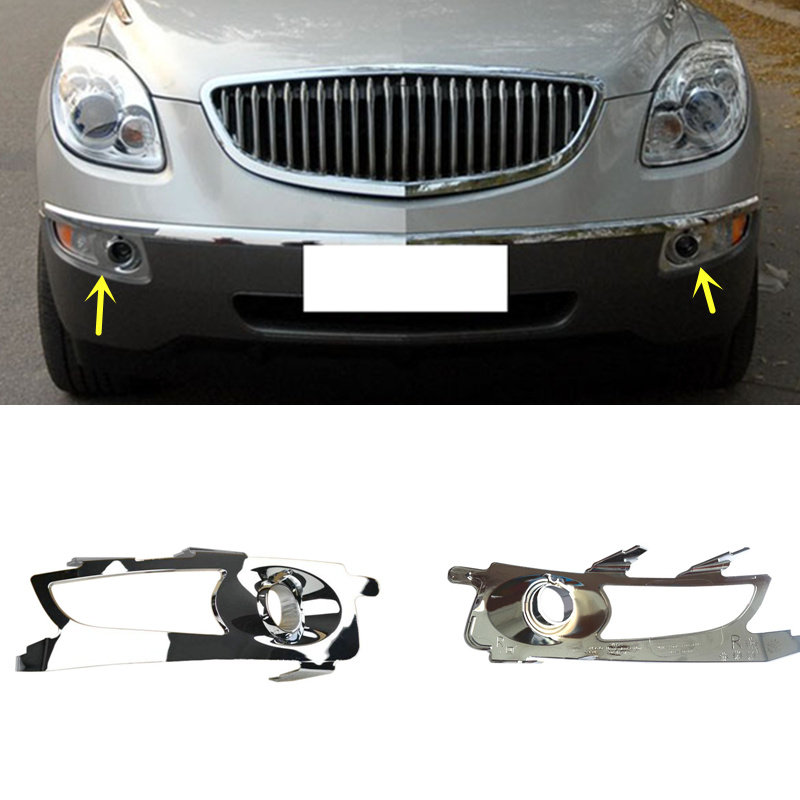 Buick Enclave 2013: 2PCS Fit For Buick Enclave 2009-2013 ABS Plating Front Fog