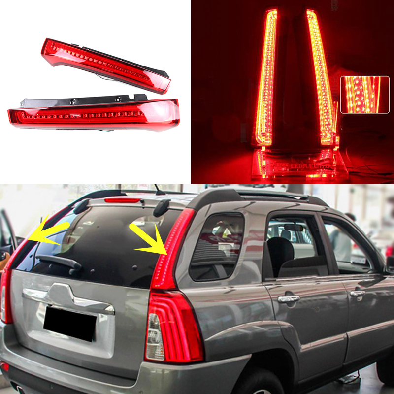 Auto Parts Interchange >> For Kia Sportage 2005-2010 Red Lamp Column LED Tail Light ...
