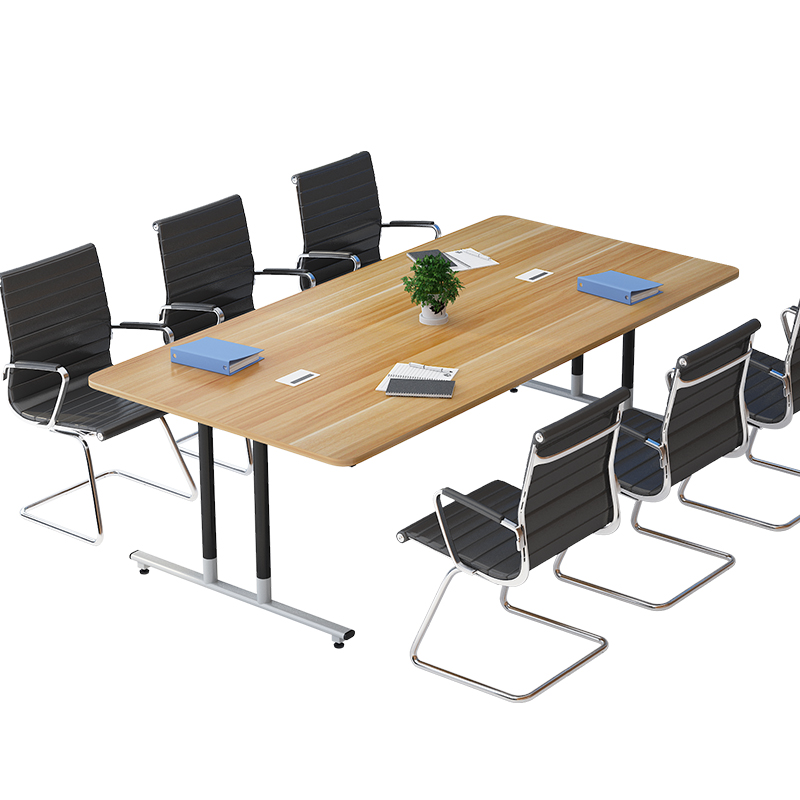 Conference Table Long Table Simple Modern Large Plate Economy Type Long  Table Simple Work Table Negotiation Table Rectangle
