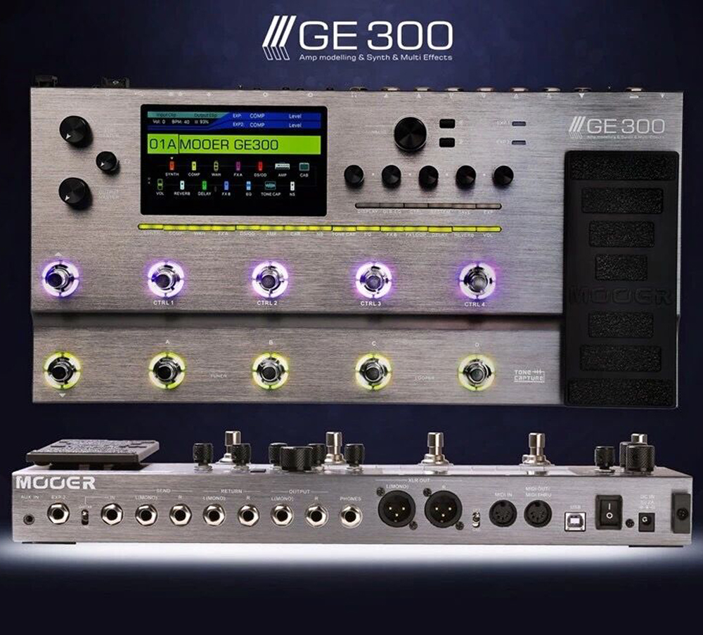 Mooer GE 300 - has Helix met its match? - Effects - Basschat