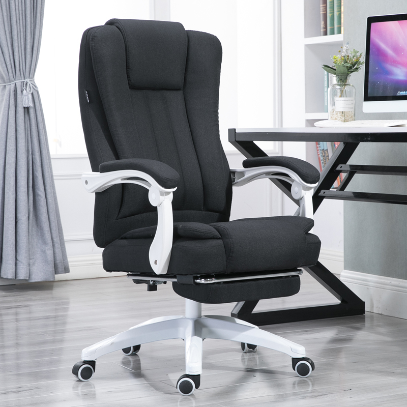 Cloth Home Computer Chair Reclining Staff Meeting Leather Boss Chair  Leather Massage Chair Bow Office Chair Chair