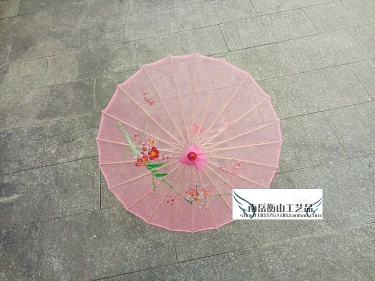 Costumes & Accessories Chinese Ancient Stage Performance Show Umbrella Classical Dance Umbrella Flower Pattern Dance Props Silk Children Adult Umbrella