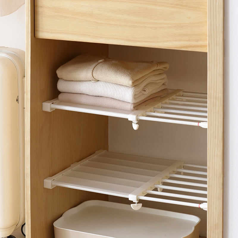 USD Lazy Corner Retractable Tiered Shelving Wardrobe Child - Bathroom separator