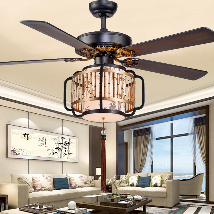 Usd 112 68 New Chinese Ceiling Fan Led36w Dimming Dining