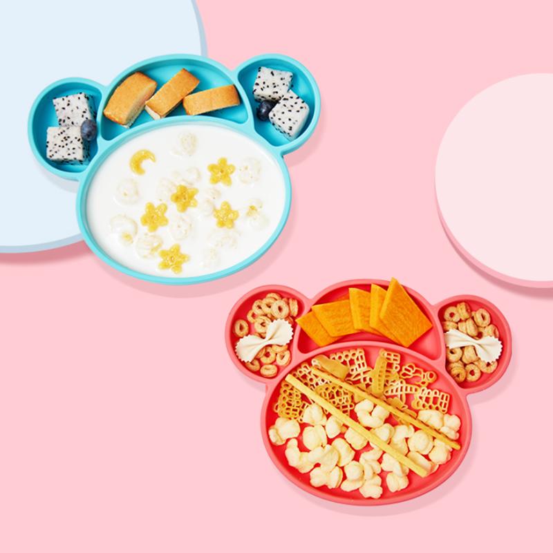 【好价】gb好孩子儿童餐具硅胶餐盘