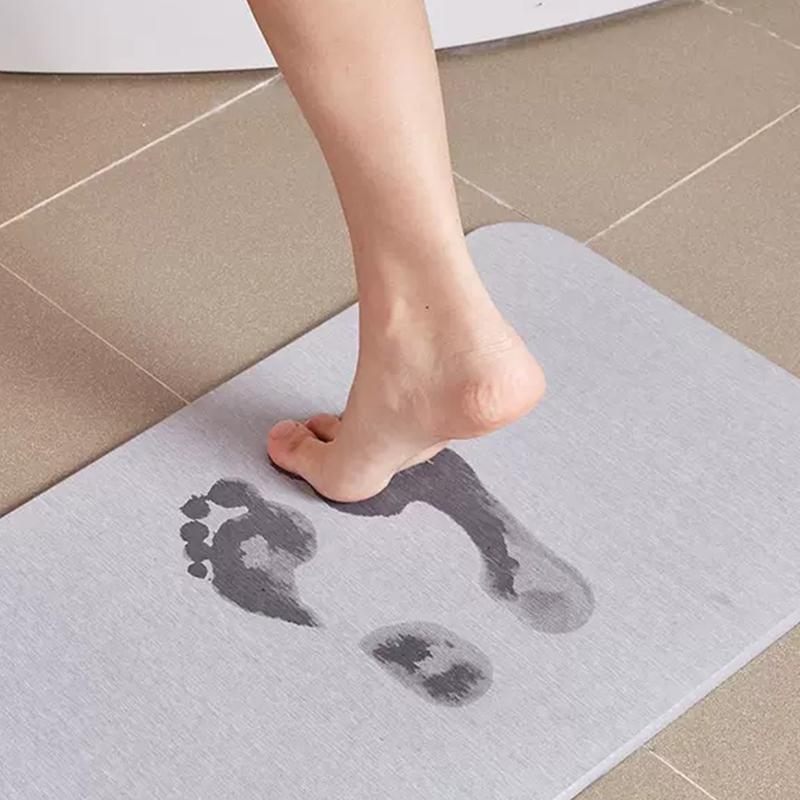 硅藻泥脚垫吸水门垫家用厨房地板卫生间