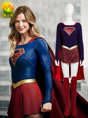 taobao agent Manzhixiu DC Superwoman cos suit Supergirl tights skirt cosplay costume custom women's clothing