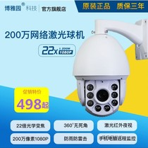 Xiongmai 200 million network HD Dome zoom camera room