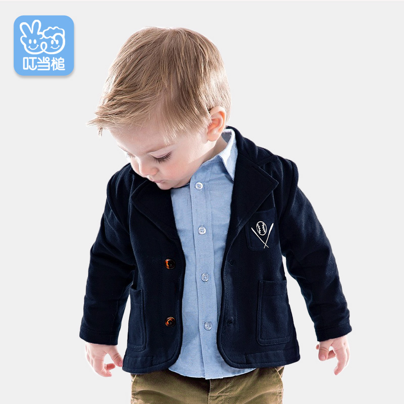 Boy Jacket Small Suit Baby Spring Childrens Suits Birthday Dress Autumn Coat Tide