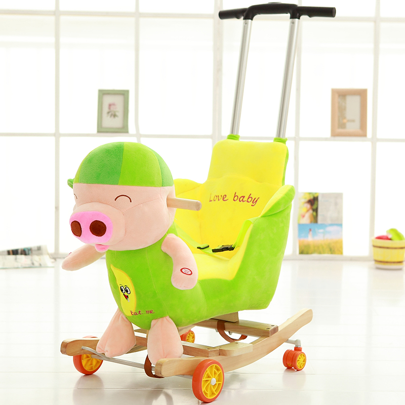Mcdull Pig Rod + Universal Wheel + Music + Wash And Wash