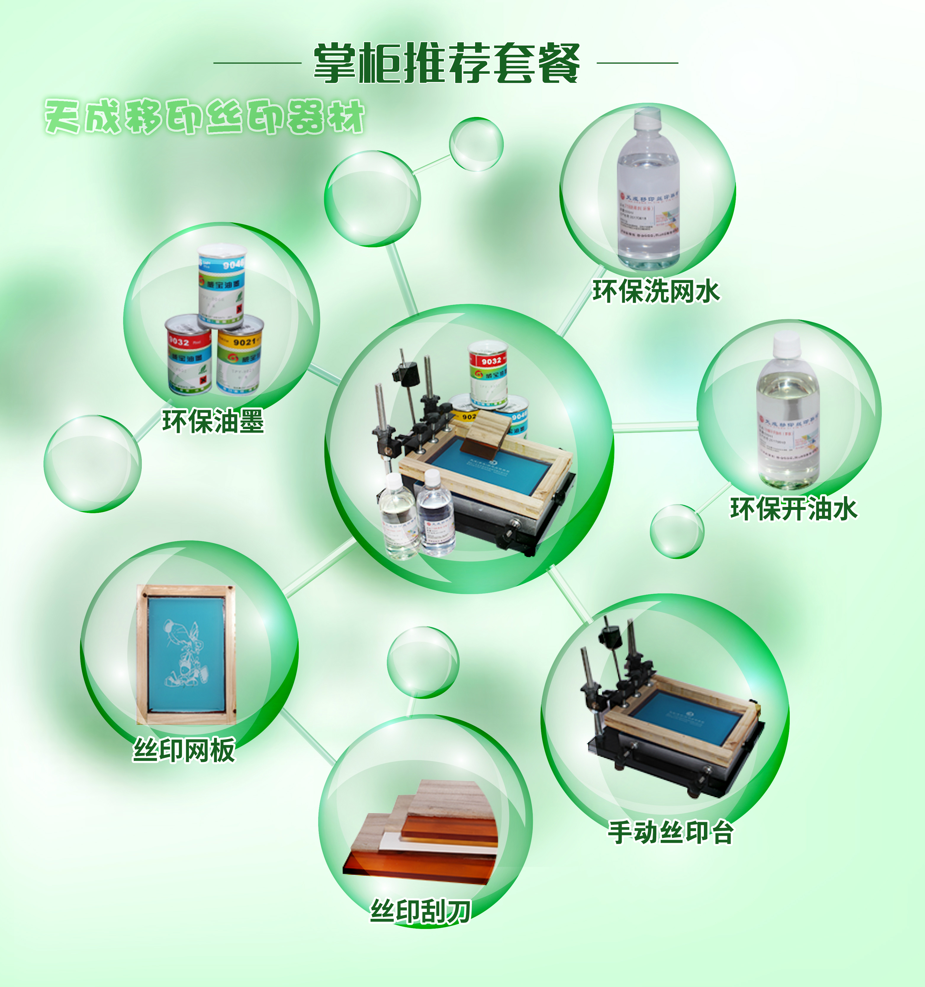 Screen printing stencil making screen printing machine