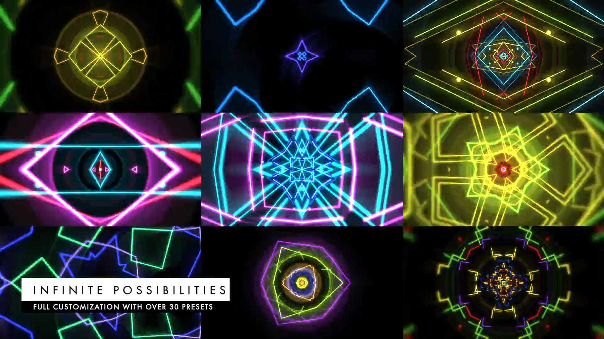 TB2vp35XGi5V1BjSszdXXXUJXXa_!!1075754678 FCPX插件:VJ霓虹灯效果动态视频舞台背景预设 ProDrop: Light Show