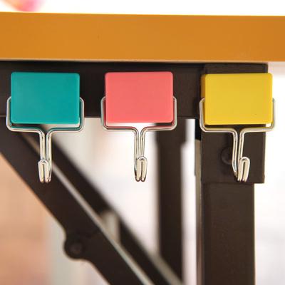 挂钩门后无痕粘钩日式创意吸力磁性挂钩微波炉冰箱无痕承重挂钩