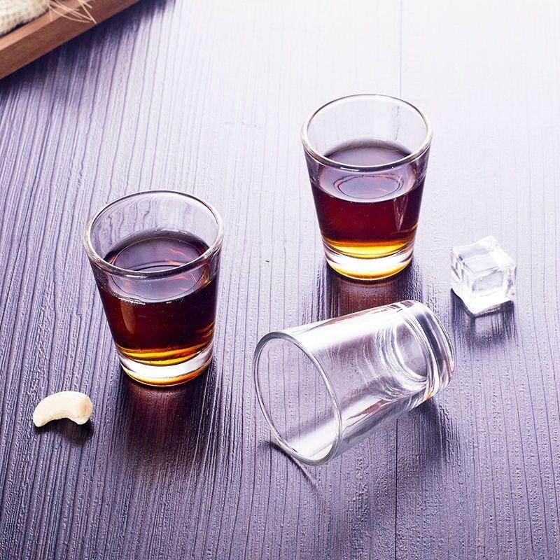 【玛莎蒂欧】无铅玻璃白酒子弹杯