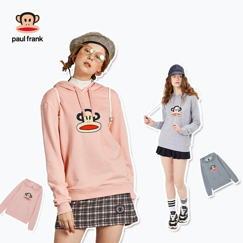 【大嘴猴】秋季款情侣连帽外套卫衣