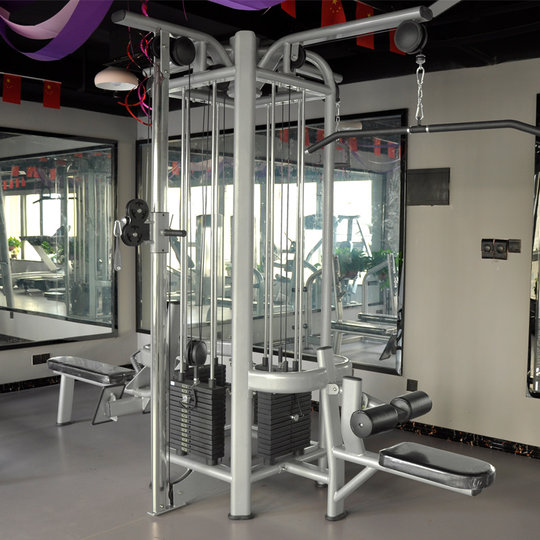 Yulong Four Directions Combination Trainer, Large-scale Equipment, Multifunctional Fitness Equipment, Commercial Gym