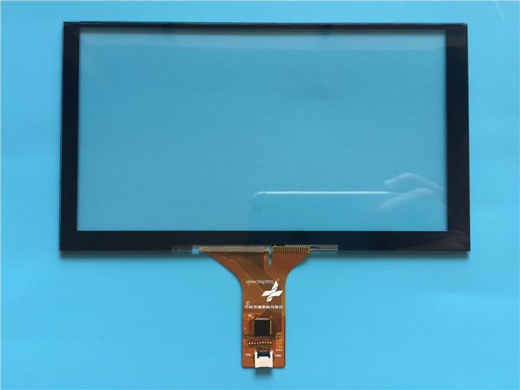 6 2 7 8 9 10 1 inch car navigation handwritten touch screen outside the  screen 6P chip GT911 with screen customization