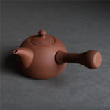 Red mud handmade teapot, handle, ceramic pot, electric ceramic stove, charcoal stove, ceramic teapot, tea maker, kettle
