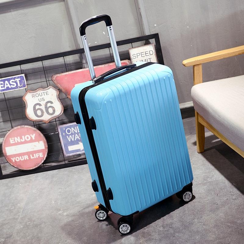 行李箱女万向轮铝框拉杆箱密码旅行箱24男小型20寸ins网红学生潮