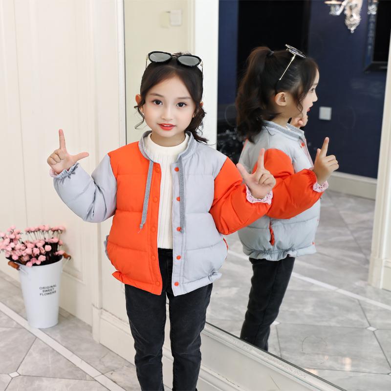 2019韩版冬装新款中童儿童羽绒服内胆学生男女童宝宝保暖短款外套