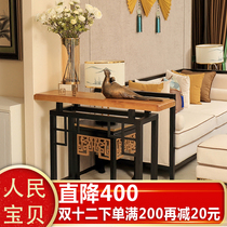 Nordic Xuan Guan table simple modern Xuan Guan cabinet will be cleaned restaurant few wall side