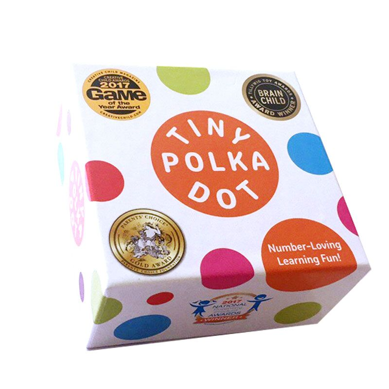 美国MathForLove数学思维游戏桌游TINY POLKA DOT亲子益智玩具