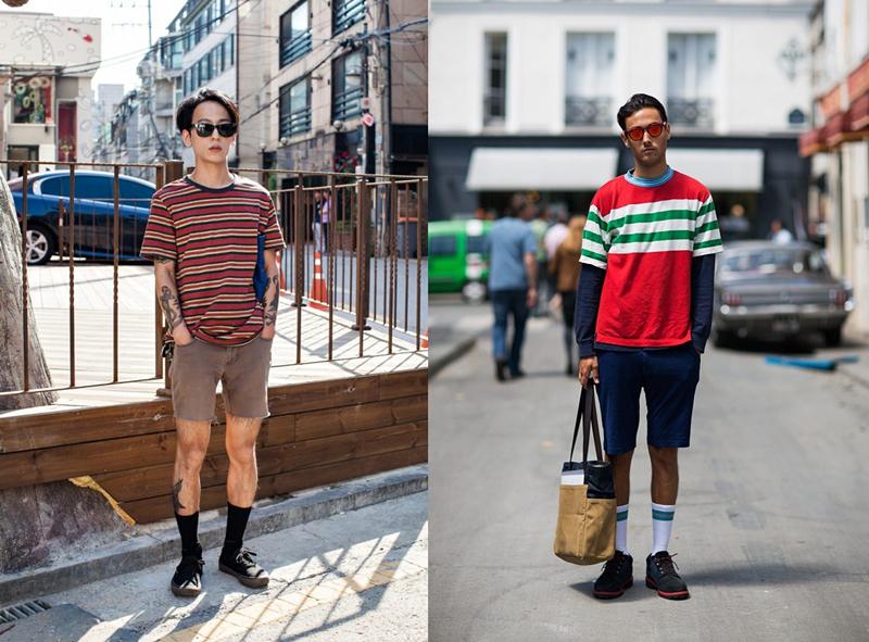 四类清爽短裤,正确开启夏日模式