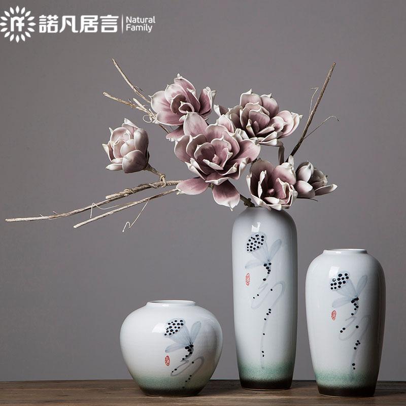 ChinaHao.com & Simulation floral European living room flower decoration decoration floor vase fake flower dry bouquet creative decoration large flowers