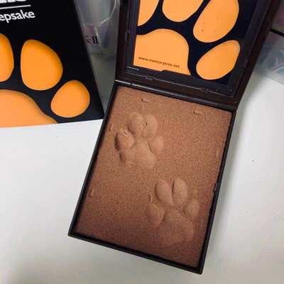 Douyin net celebrity permanent preservation of pet dogs, cats and dogs celebrities hand and foot paw prints commemorative photo ornament pawpals