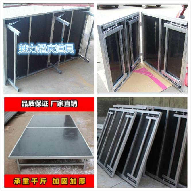 铝合金舞台桁架灯光架背景架雷亚折叠升降活动舞台架婚庆玻璃T台