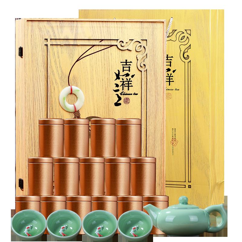 2019新茶安溪铁观音春茶特级浓香型兰花香茶叶罐装高档礼盒装正品