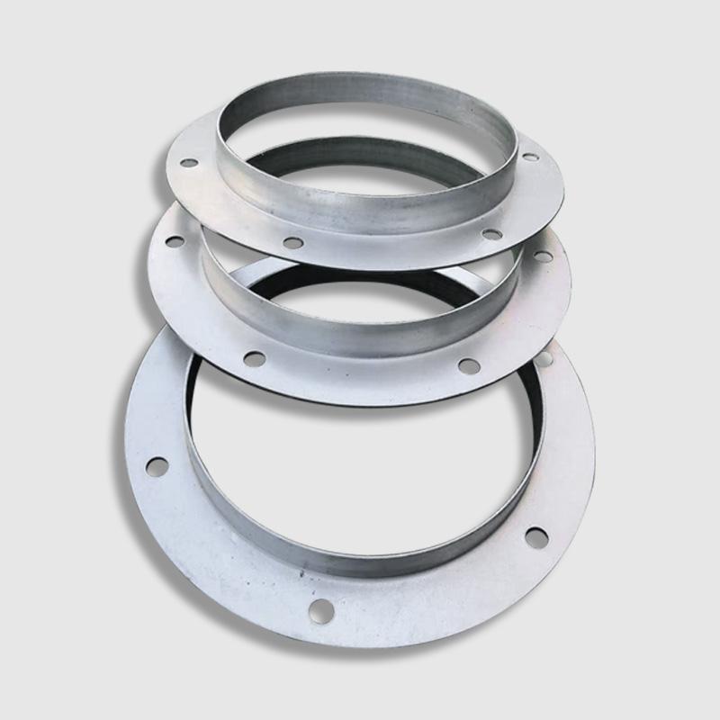 Galvanizing flange duct round flange angle steel flange 304 stainless steel  flange fan flange plate manufacturer direct sales