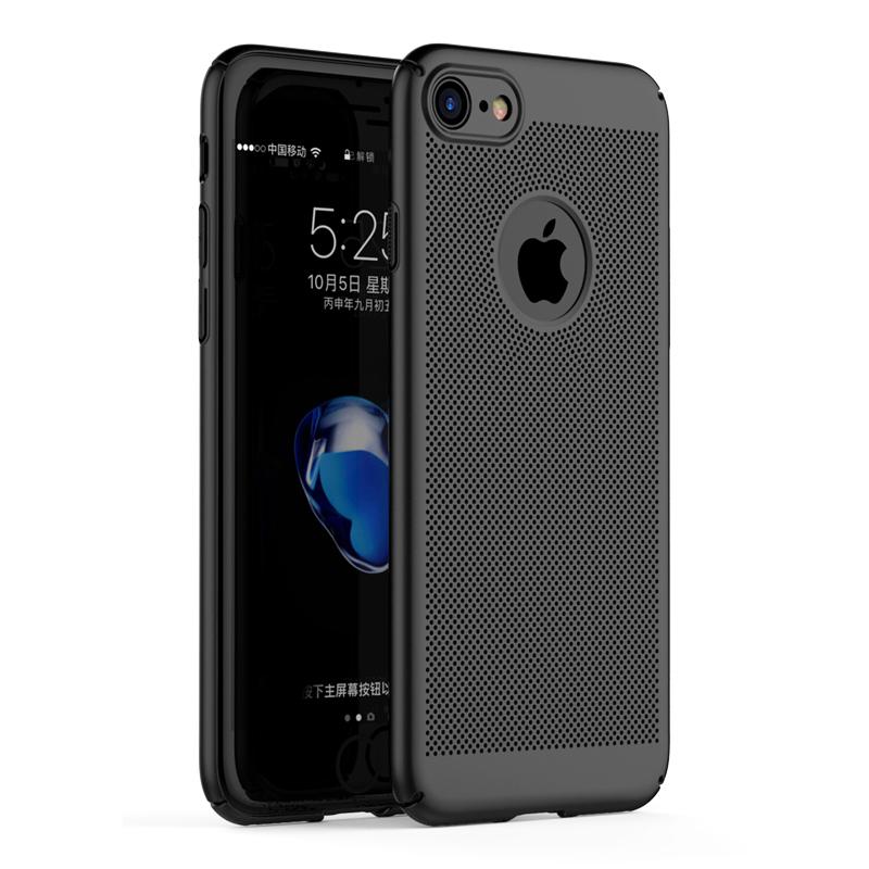 券后9.90元苹果7游戏透气手机套镂空散热