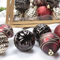 Father-6cm Christmas tree decorative ball alien Christmas Ball Sling